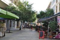 Ledra street - cyperská ( grécka ) časť