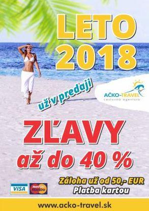 Dovolenka Leto 2018
