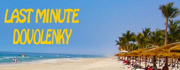 Last minute minute dovolenky